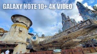Samsung Galaxy Note 10 Plus Camera 4K Video Test