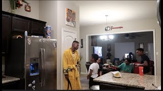 BAM  POOPED ON HIMSELF PRANK ON FUNNYMIKE...