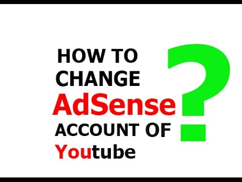 How to change AdSense account linked to youtube in 3 minute?
