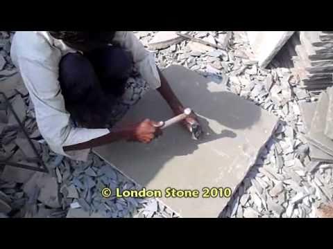 Cutting Indian Limestone