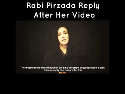 Xxx Mp4 Rabi Pirzada First Video Message After Her Leaked Video Scandal 3gp Sex