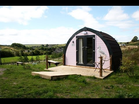 THE ATOM - Small Scale Glamping Pod Build