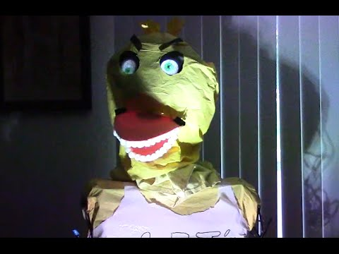 🤖 Five Nights At Freddy's Animatronic How To - One Hour Build (Dr. NOOB's Lab)