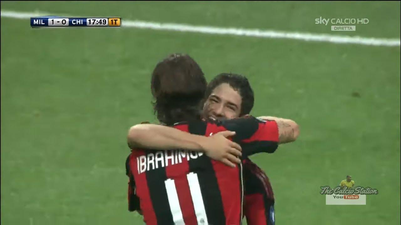 Milan vs Chievo FULL MATCH HD (Serie A 2010-2011)