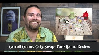 Carroll County Cake Swap - Board Game Review