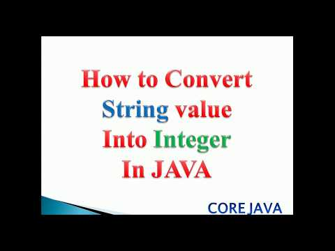 how to convert String to int in java : example