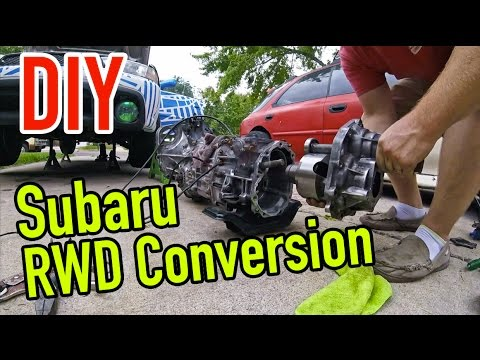 How to convert your Subaru to RWD - Dirtcheapdaily - Ep. 23