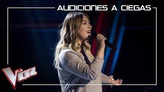 María Espinosa canta 'Ya lo sabes'   Audiciones a ciegas   La Voz Antena 3 2019