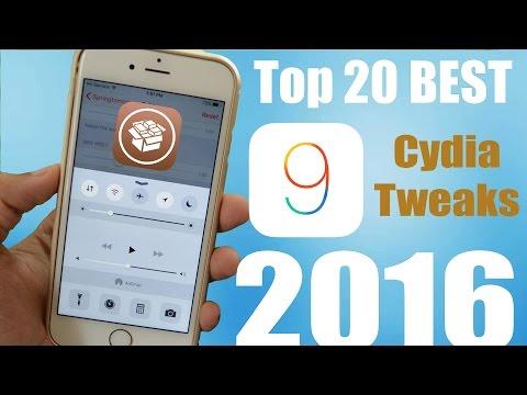Top iOS 9 Cydia Tweaks of 2016 (Best 20)