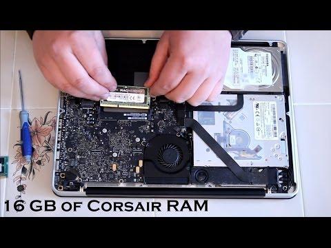 MacBook Pro | 16 GB of Corsair's Mac Memory 