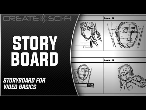 The Storyboard, Basic Storyboard Creation & Script Breakdown: How To Make A Sci-Fi Short Film