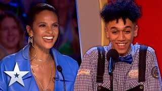 Unforgettable Audition: This 19 year-old has ALL the MOVES!   Britain's Got Talent