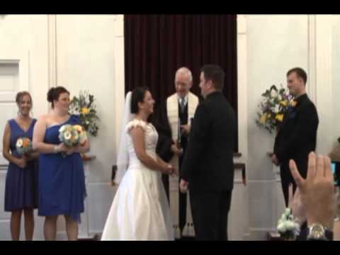 J&J VIDEO PRODUCTIONS-CLEVELAND OHIO, 440-845-2122 , CLIFTON WEDDING KISS, EXIT TO THE MUPPET SONG