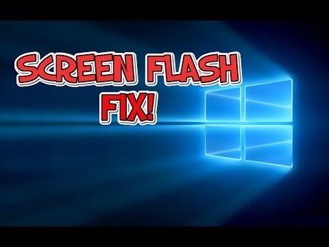 How to Fix Windows 10 Flashing Screen
