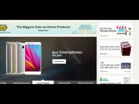 Flipkart Offer Extra Rs. 1250 Off on EMI with SBI Credit Cards All Products