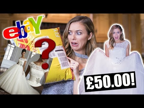 UNBOXING MY EBAY WEDDING DRESS! *DISASTER*