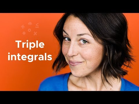 What does a triple integral represent?