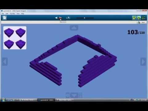 how to make a lego pyramid
