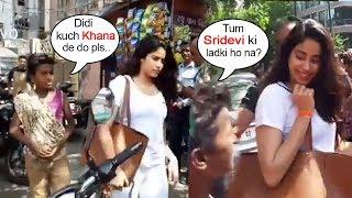 Beggar Asks For Food From Sridevi
