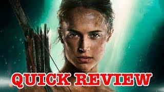 Tomb Raider - Quick Movie Review - Vlog 240