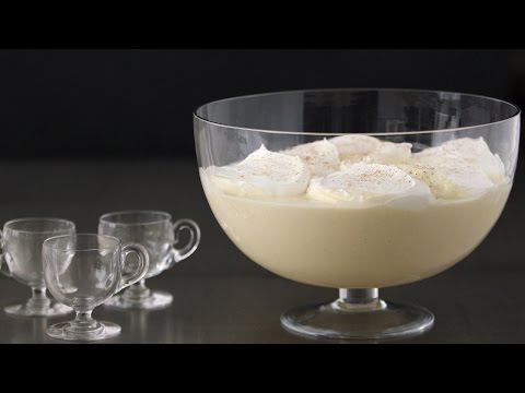 Delicious (And Totally Safe) Holiday Party Eggnog- Kitchen Conundrums with Thomas Joseph