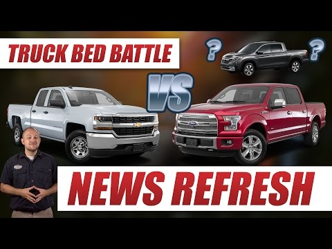Truck Bed Battle: Ford F-150 vs Chevy Silverado vs… Honda Ridgeline?
