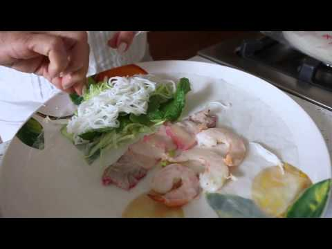Cooking With Mrs. Nguyen: Summer Rolls & Peanut Sauce