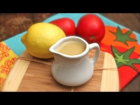 How to Make Lemon Vinaigrette - Quick and Easy Salad Dressing Recipe
