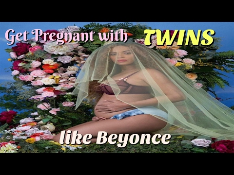 How to get pregnant with twins like Beyonce