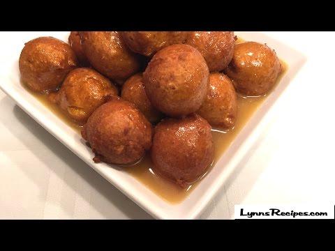 Pumpkin Fritters with Caramel Sauce - Lynn's Recipes