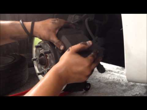 2004 Toyota Camry Brake Replacement