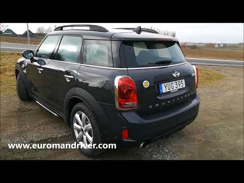 New 2018 MINI Countryman Cooper S plug in hybrid Test Drive Review Electric Petrol Car