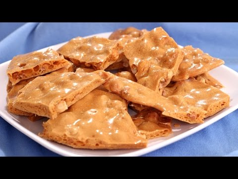 Crunchy Peanut Brittle Recipe - Amy Lynn's Kitchen