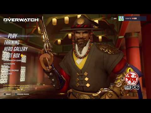 Overwatch OE Year of the Dog Opening 7 Lunar New Year Loot Boxes