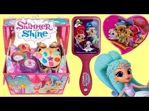New SHIMMER & SHINE Treasure Chest & Hair Accessories