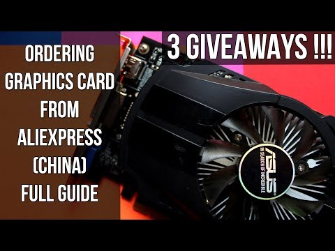 Is Ordering Graphics Card (GPU) from Aliexpress to India Safe [HINDI] + Giveaway