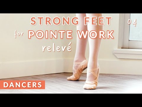 PRE-POINTE TRAINING FOR STRONG FEET: RELEVÉS •  Kisarhi for Dancers