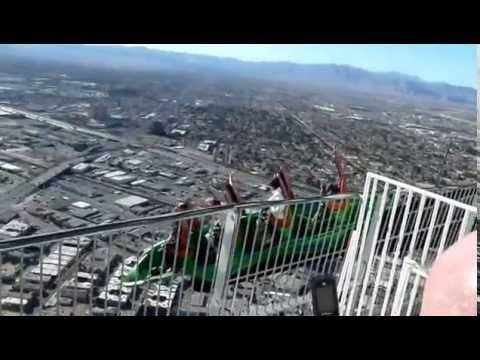 Las Vegas Stratosphere X Scream Ride