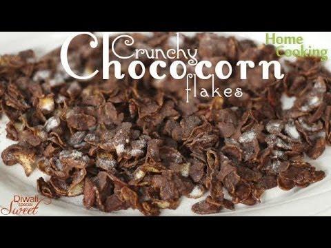 Crunchy Choco Cornflakes Recipe | Ventuno Home Cooking