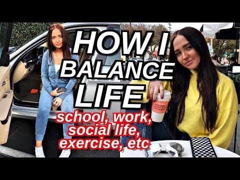 How To Balance Life | School, Social Life, Work + APPLE WATCH GIVEAWAY ft Goldieblox