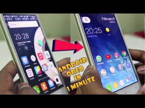 Best Android Oreo Launcher 2018 : Android Oreo in Just 1 minute !!