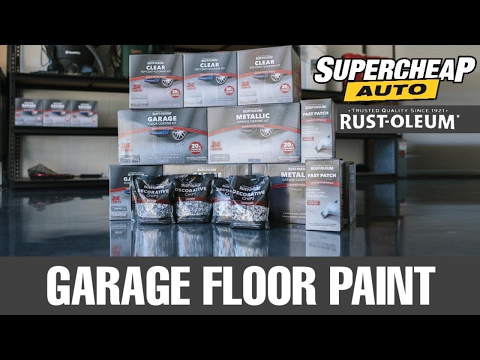 Painting Your Garage Floor! // Rust-Oleum Garage Floor Coating // Supercheap Auto
