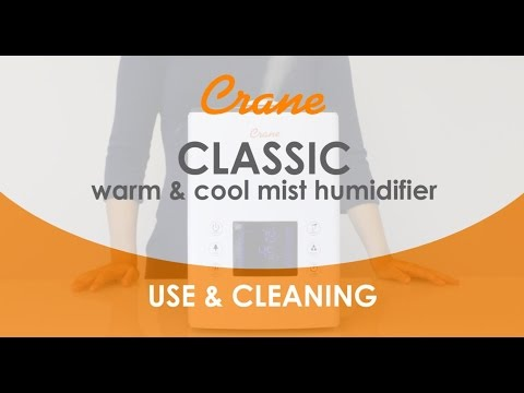 Crane's Warm & Cool Mist Humidifier [ How to Use & Clean ]