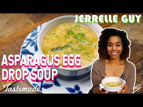 Asparagus Egg Drop Soup | Jerrell Guy