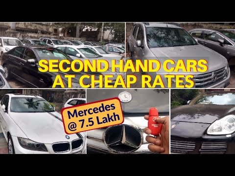 Second Hand Cars on Sale | Cheapest BMW, Swift, Merc, Duster on Loan
