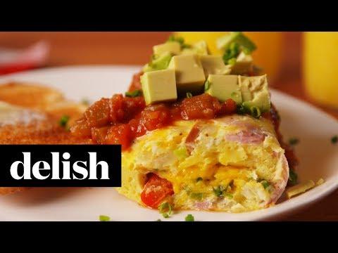 Omelet in a Bag | Delish