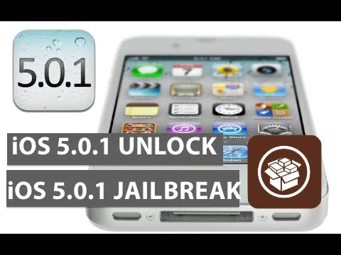UNLOCK and JAILBREAK iOS 5.0.1 (untethered) [Works w/ EVERYTHING but 4S & iPad2]