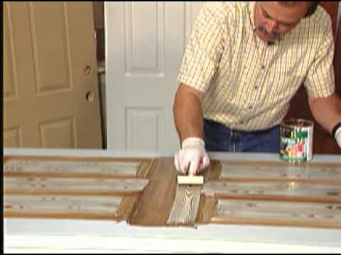 How to make a Metal Door look like Wood with ZAR® Wood Stain