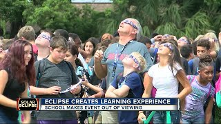 Eclipse creates learning experience