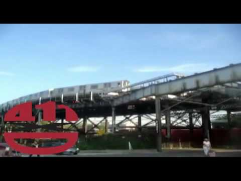 Elevated Subway Trains   The Bronx